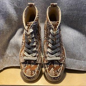 RARE Python Louboutin Rantus Orlato Sneaker 41